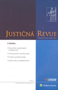 ČOLLÁK, J.: Procesnoprávne zneužitie práva: vlastnosti, aplikácia a následky v civilnom súdnom procese 1